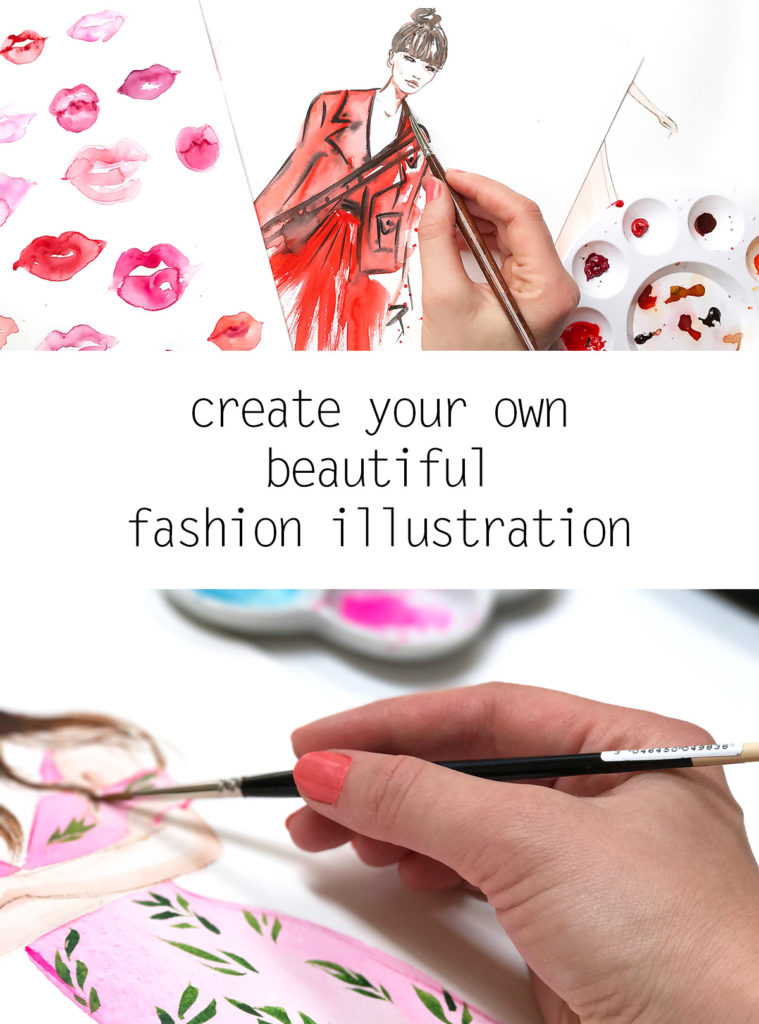 how to draw fashion illustration