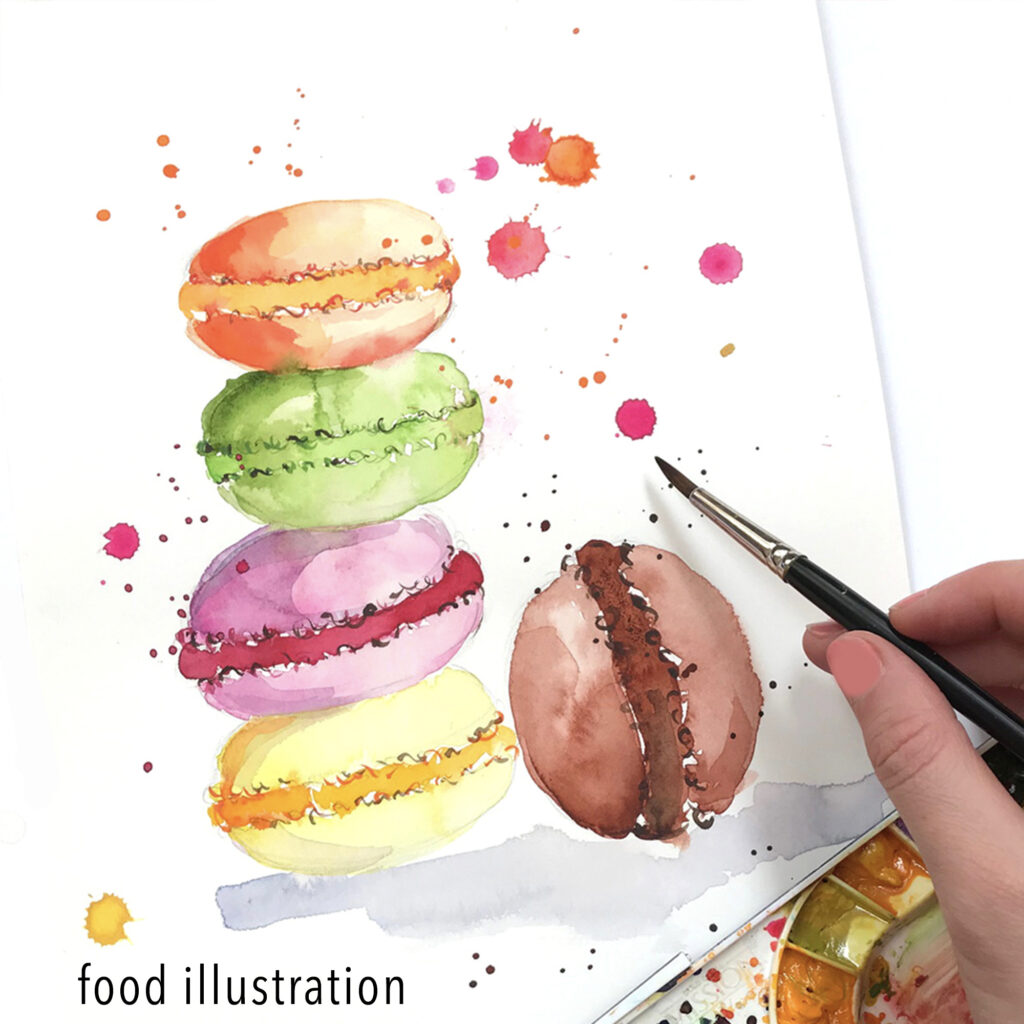 food illustration by Elena Fay